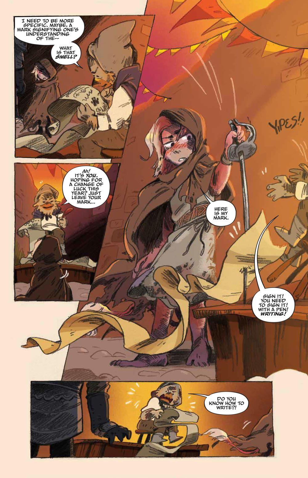 Labyrinth_UnderSpell_HC_PRESS_13 ComicList Previews: JIM HENSON'S LABYRINTH UNDER THE SPELL HC