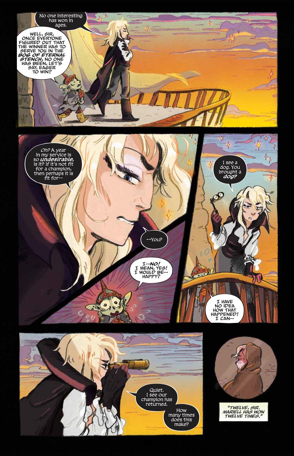 Labyrinth_UnderSpell_HC_PRESS_16 ComicList Previews: JIM HENSON'S LABYRINTH UNDER THE SPELL HC