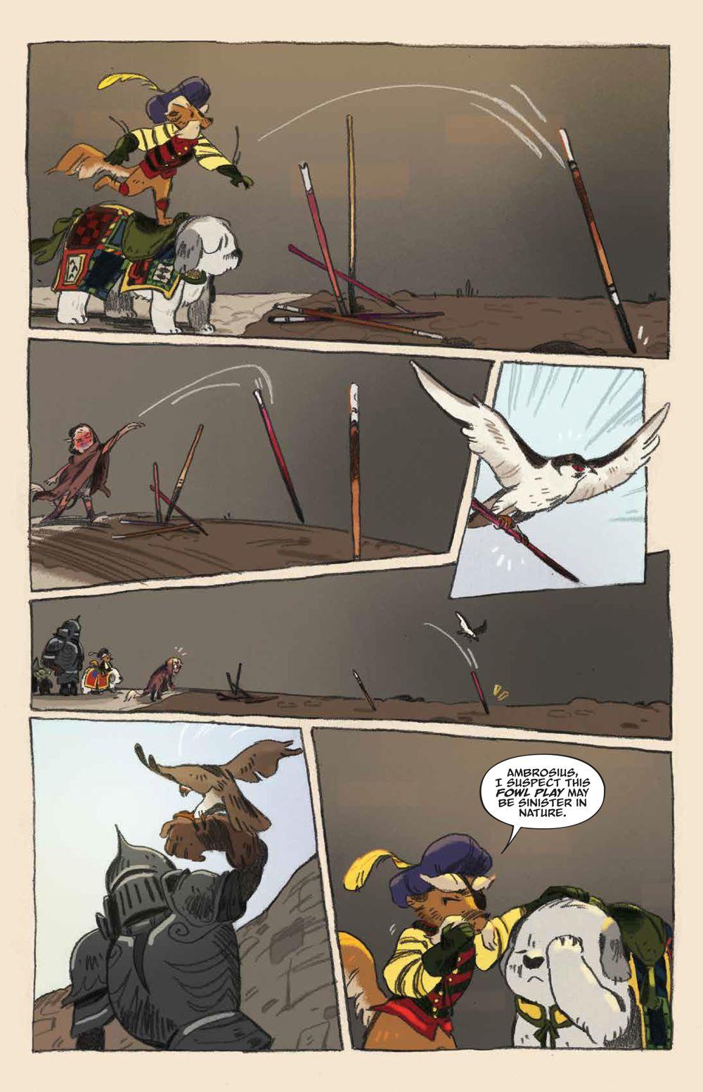 Labyrinth_UnderSpell_HC_PRESS_22 ComicList Previews: JIM HENSON'S LABYRINTH UNDER THE SPELL HC