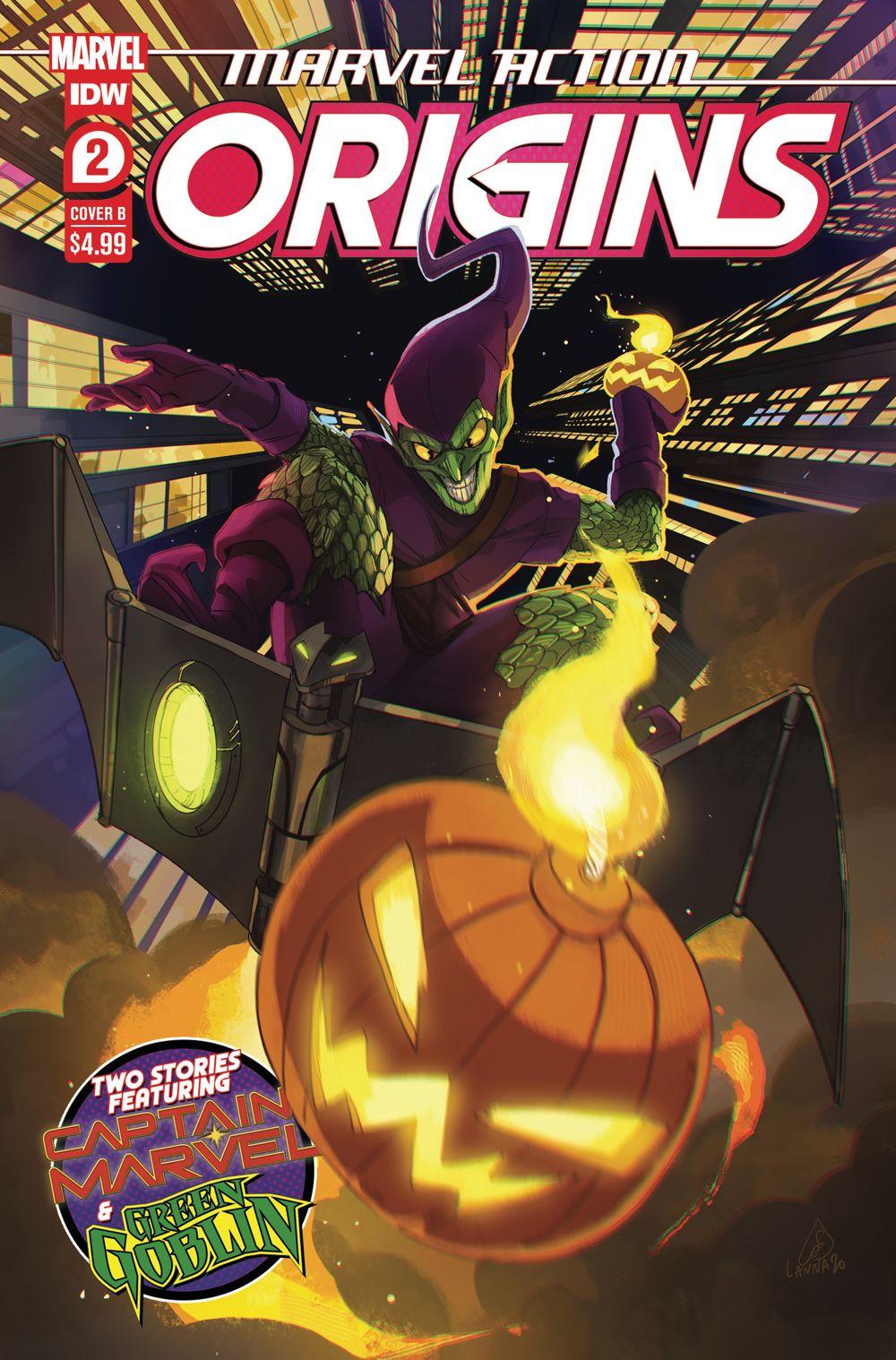 MA-Origins02_cvrB ComicList: IDW Publishing New Releases for 06/02/2021