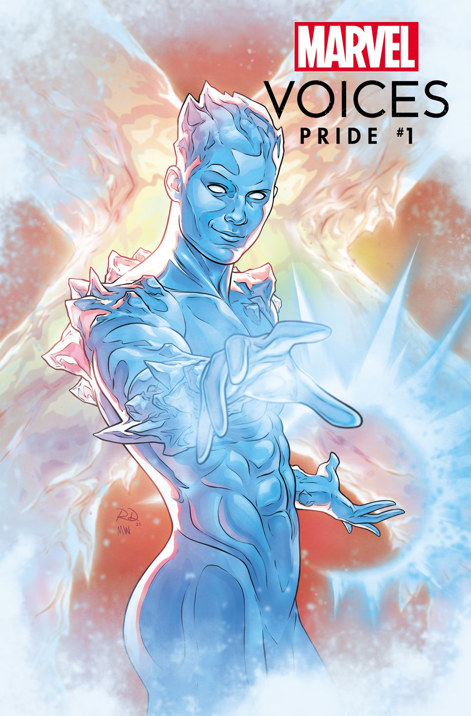MARVOICESPRIDE2021001_Dauterman Marvel releases four variant covers for MARVEL'S VOICES: PRIDE #1