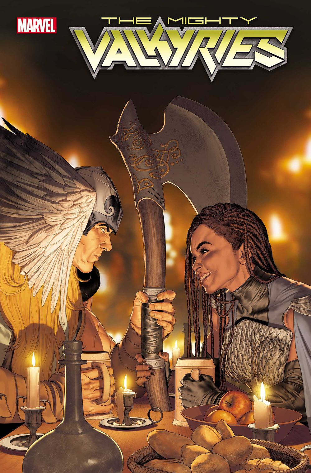 MIGHTYVALKYRIES2021005_cvr Marvel Comics August 2021 Solicitations
