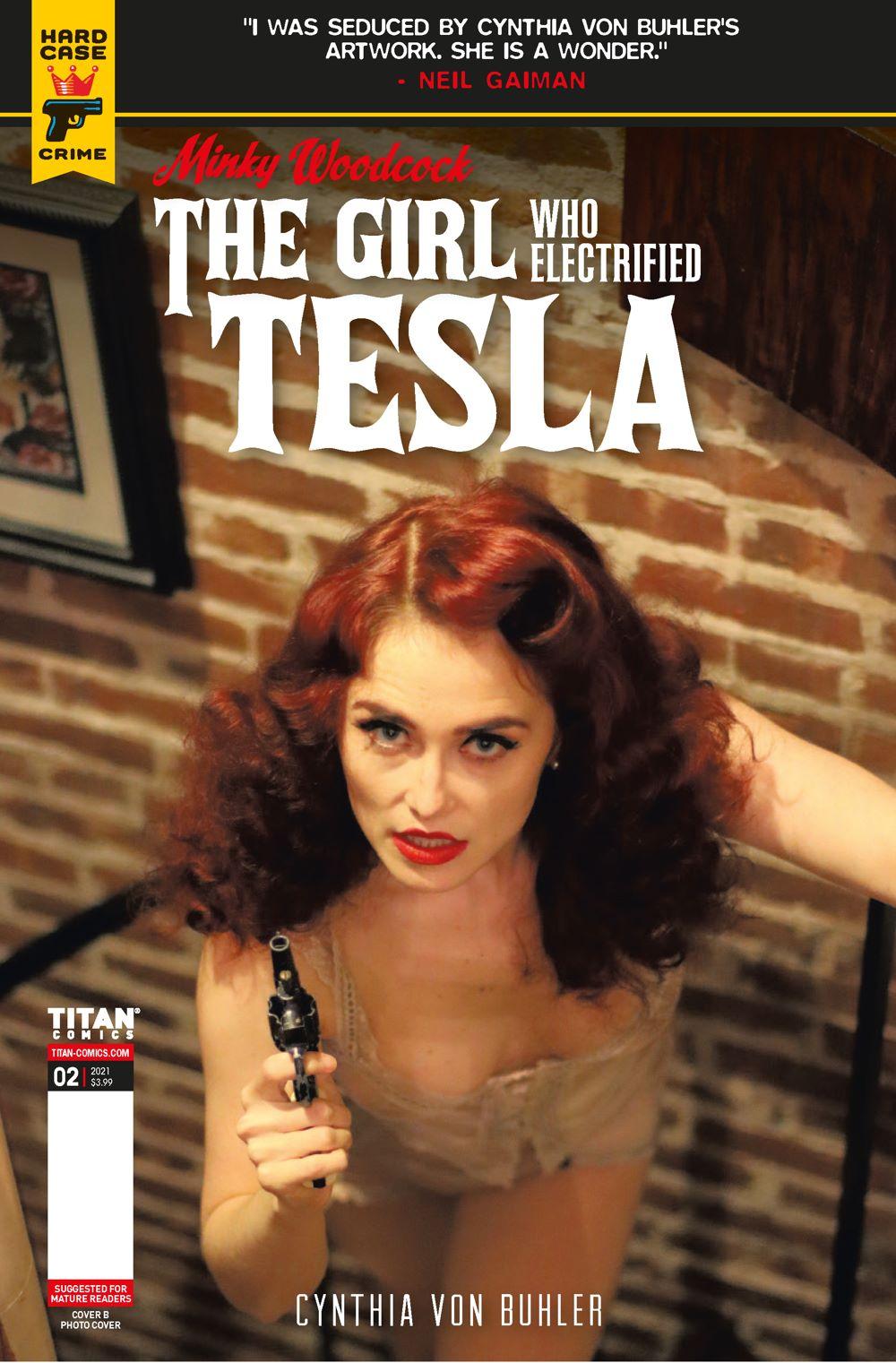 MINKY_WOODCOCK_ARC2_2_PHOTO ComicList Previews: MINKY WOODCOCK THE GIRL WHO ELECTRIFIED TESLA #2