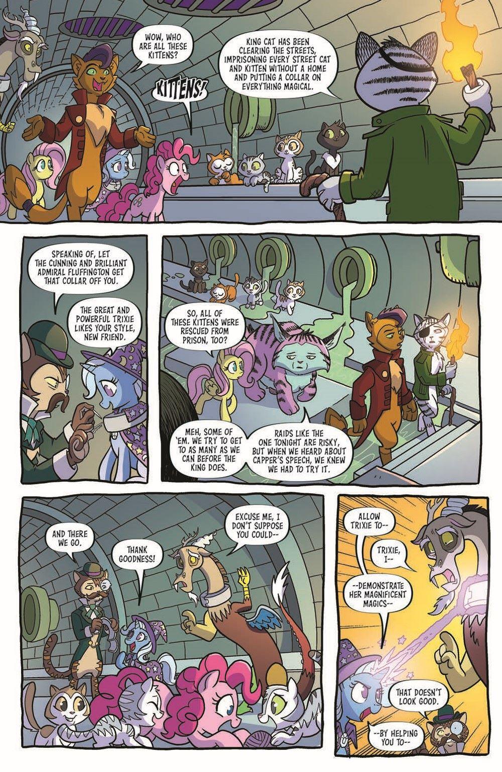 MLP97-pr-4 ComicList Previews: MY LITTLE PONY FRIENDSHIP IS MAGIC #97