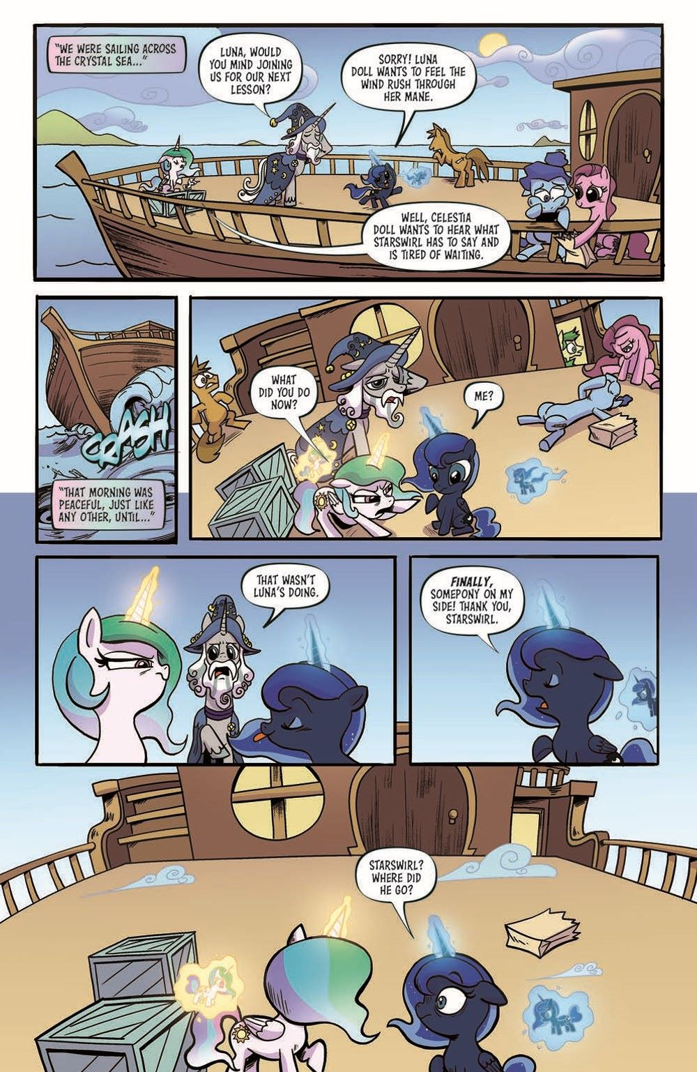MLP98-pr-5 ComicList Previews: MY LITTLE PONY FRIENDSHIP IS MAGIC #98