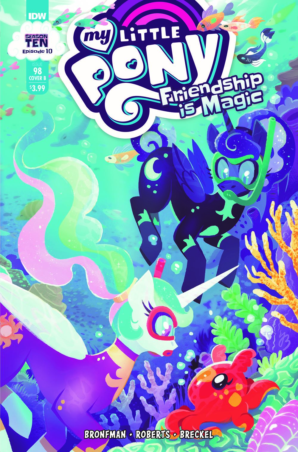 MLP98_10-coverB ComicList Previews: MY LITTLE PONY FRIENDSHIP IS MAGIC #98
