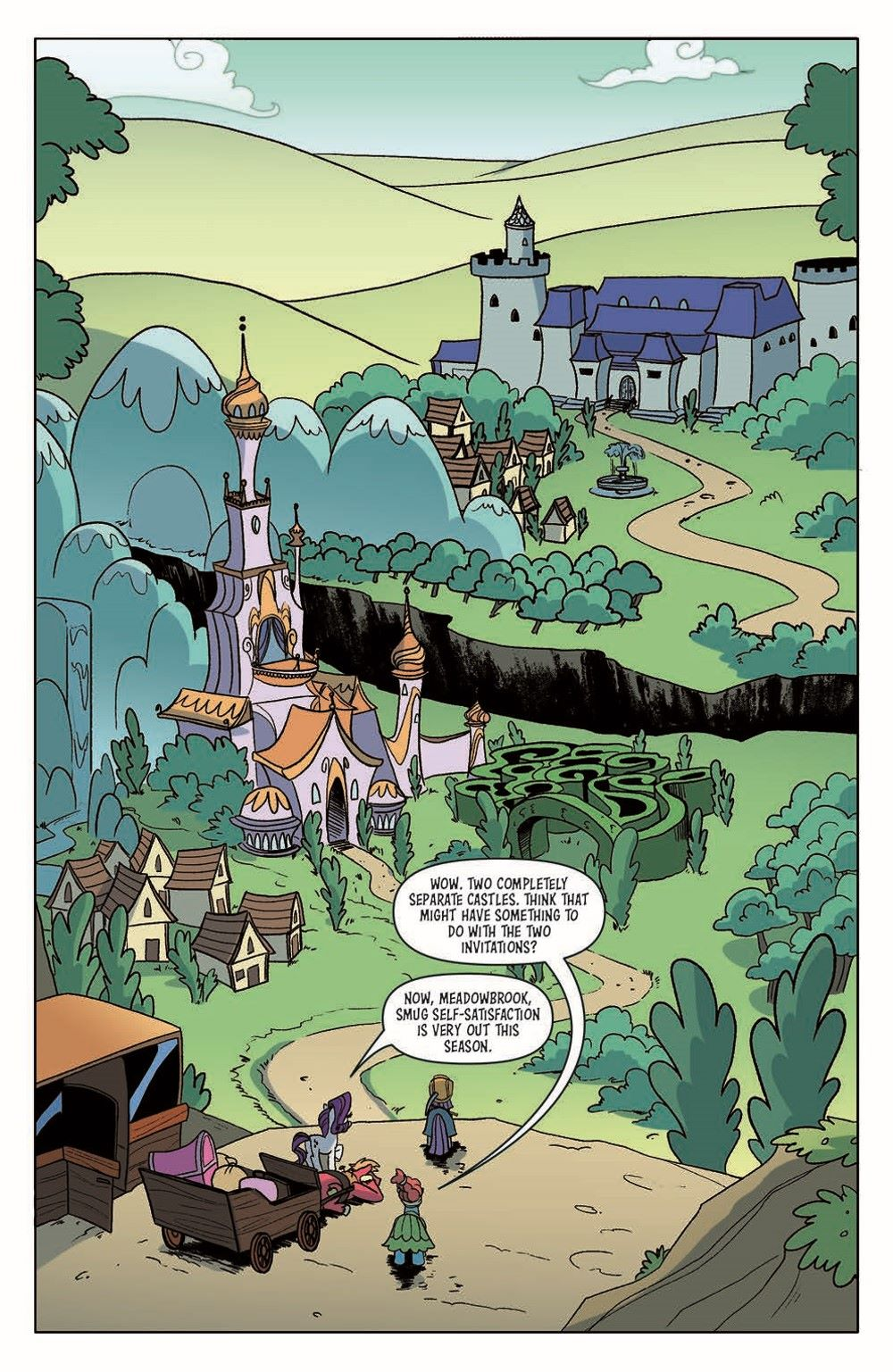 MLP_Annual2021-pr-6 ComicList Previews: MY LITTLE PONY FRIENDSHIP IS MAGIC 2021 ANNUAL