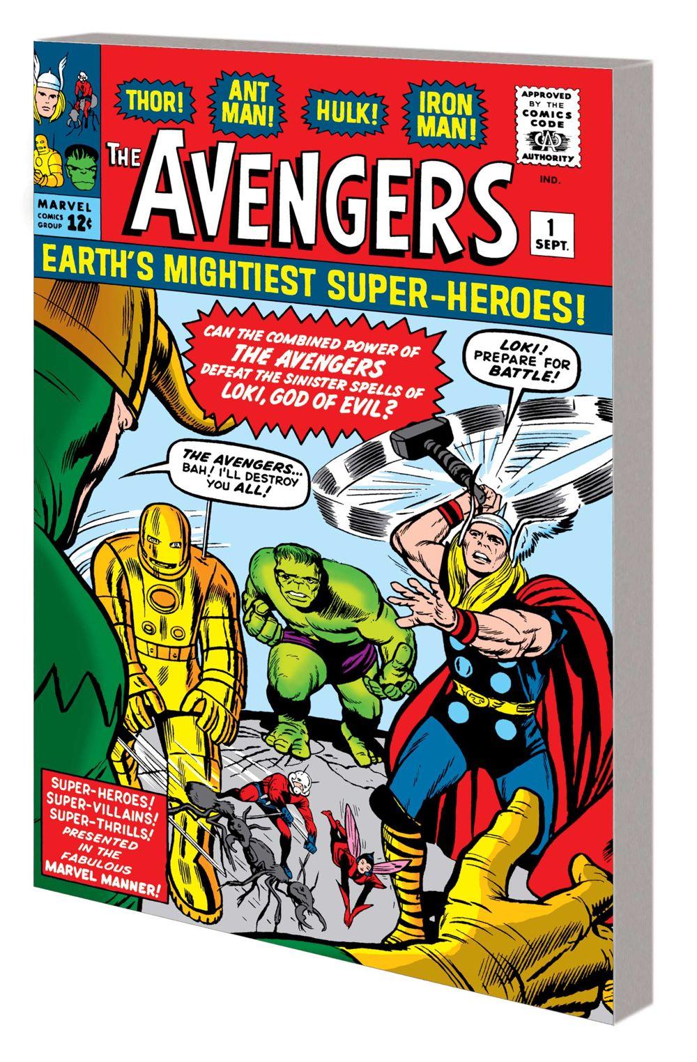 MM_AVEN_VOL_1_GN_var Marvel Comics August 2021 Solicitations