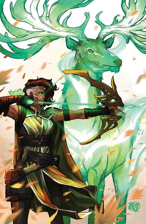 Magic_002_Cover_B3_Planeswalker ComicList: BOOM! Studios New Releases for 05/12/2021