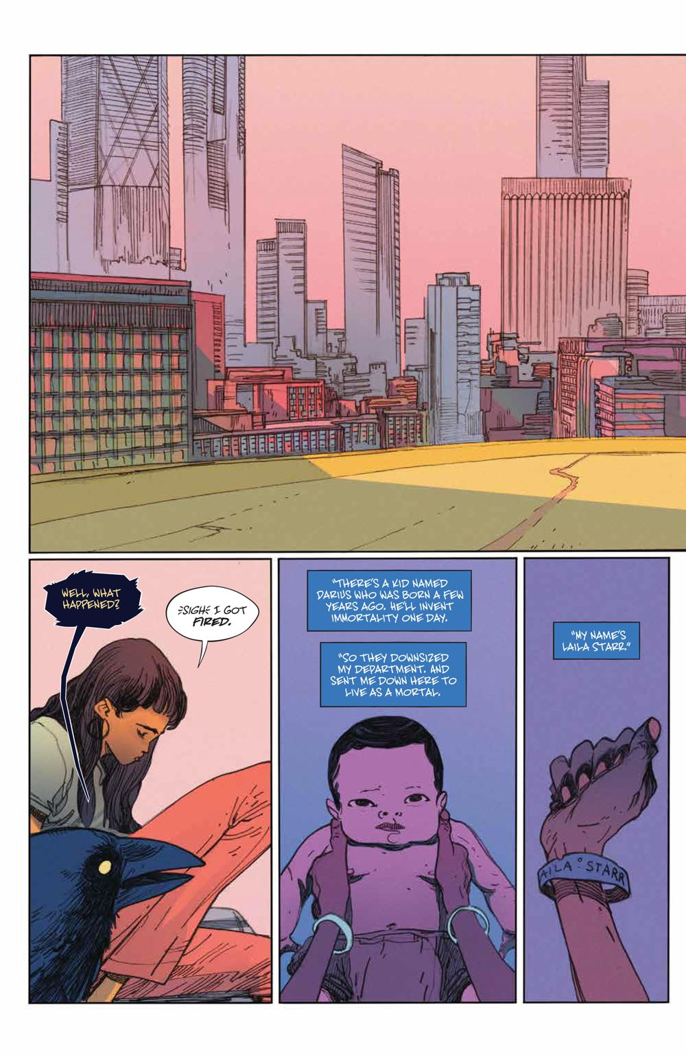 ManyDeathsLailaStarr_002_PRESS_4 ComicList Previews: THE MANY DEATHS OF LAILA STARR #2 (OF 5)