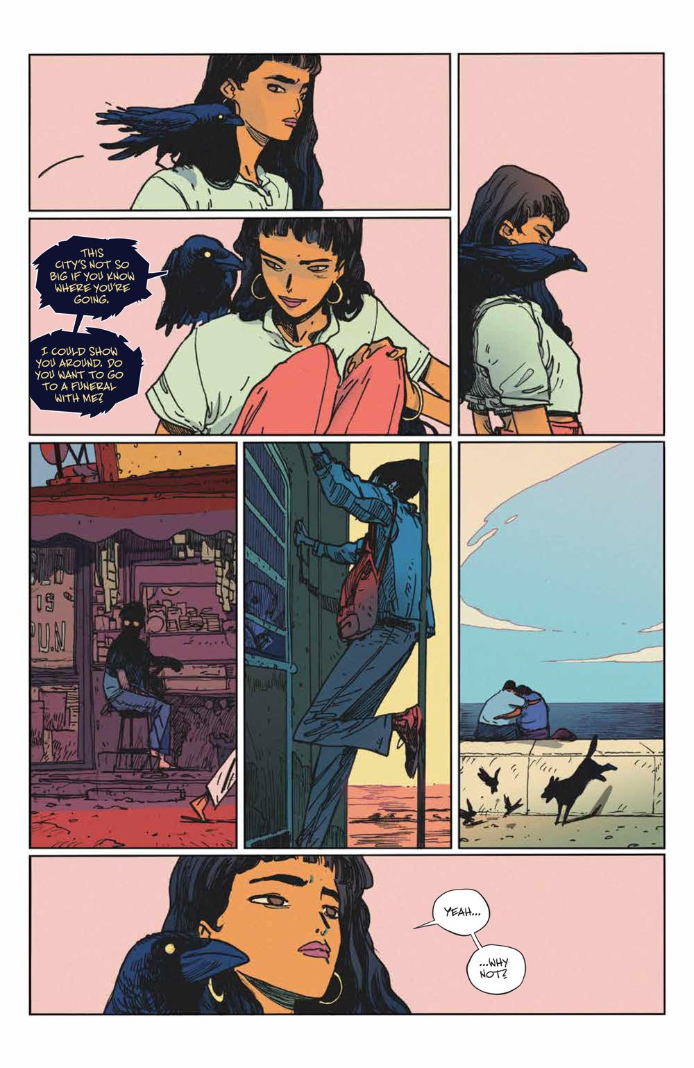 ManyDeathsLailaStarr_002_PRESS_6 ComicList Previews: THE MANY DEATHS OF LAILA STARR #2 (OF 5)
