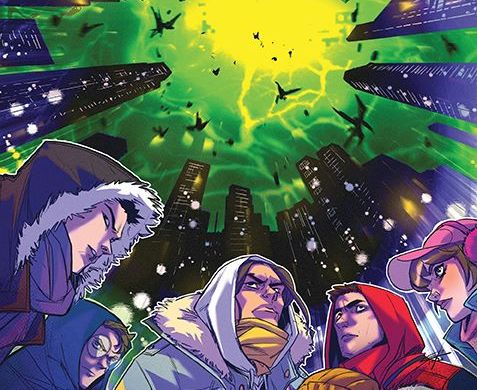 MightyMorphin_007_Cover_B_Legacy ComicList Previews: MIGHTY MORPHIN #7