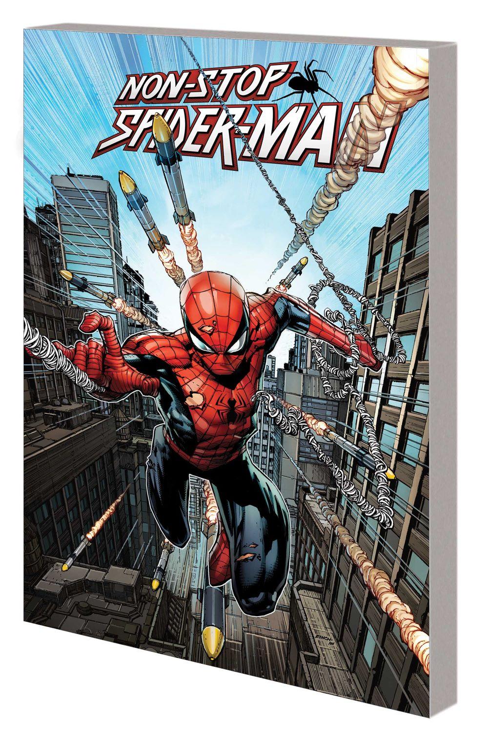 NONSTOPSM_VOL_1_TPB Marvel Comics August 2021 Solicitations