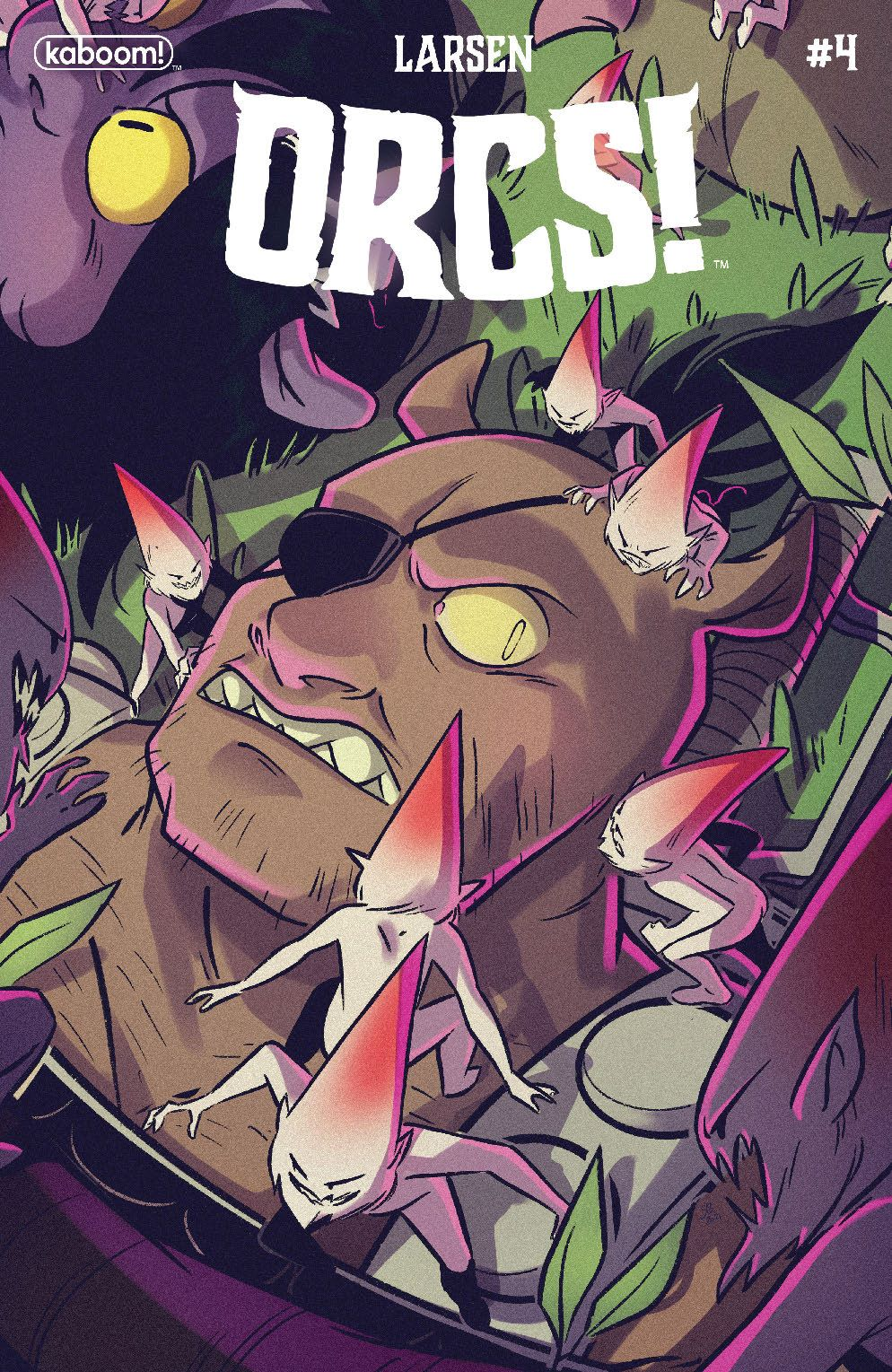 Orcs_004_Cover_B_Variant_ ComicList Previews: ORCS! #4 (OF 6)