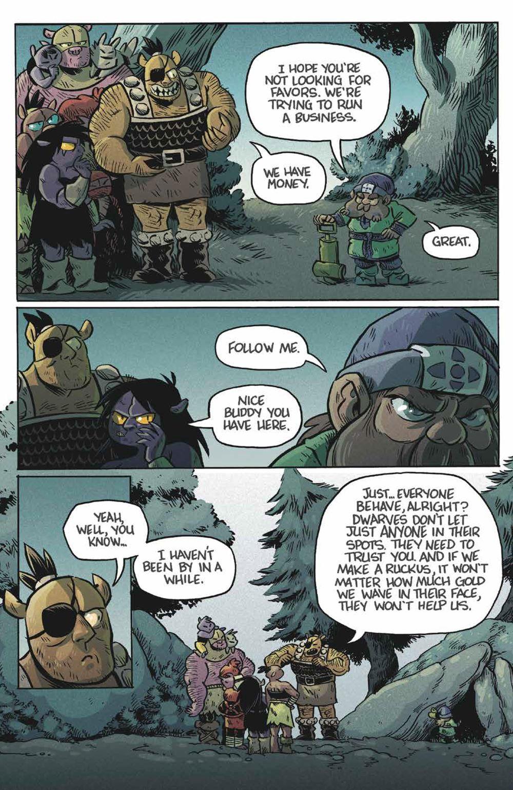 Orcs_004_PRESS_5 ComicList Previews: ORCS! #4 (OF 6)