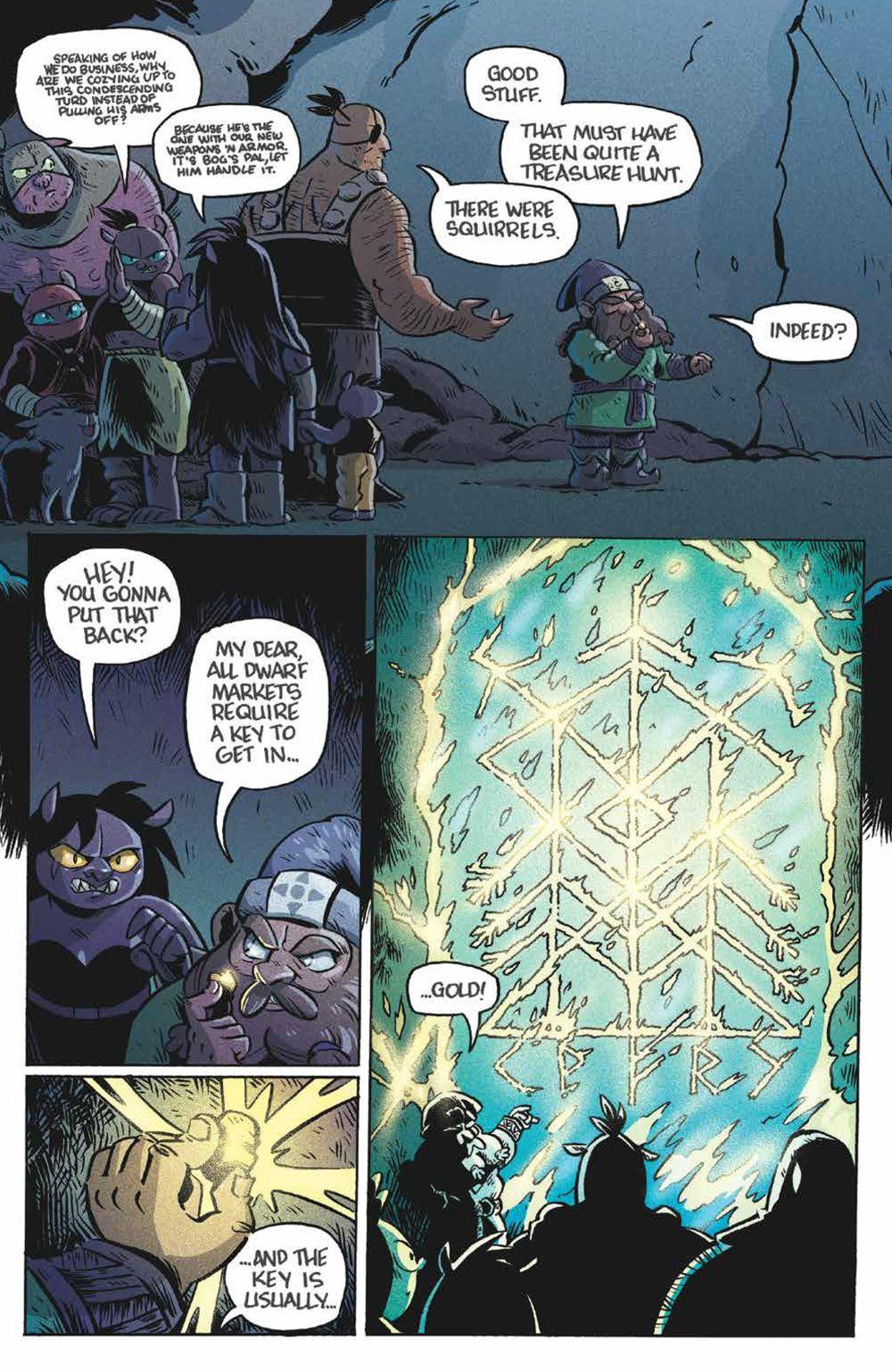 Orcs_004_PRESS_7 ComicList Previews: ORCS! #4 (OF 6)