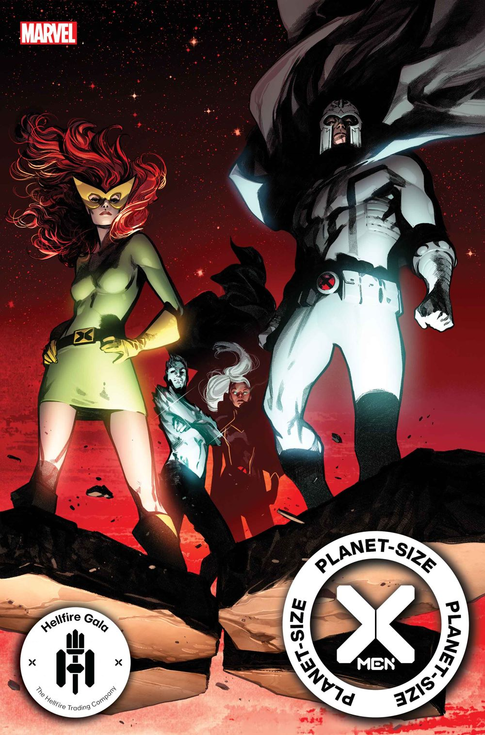 PSXMEN2021001_cov-1 First Look at PLANET-SIZE X-MEN #1 from Marvel Comics