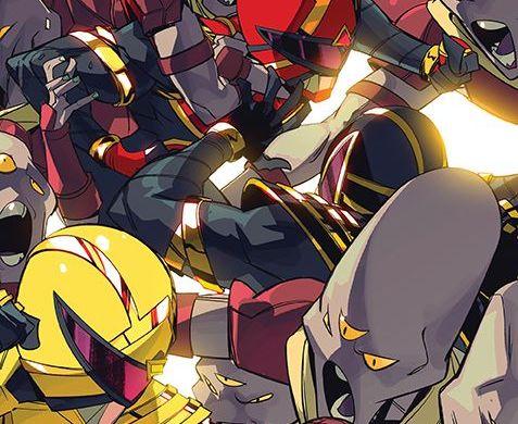 PowerRangers_007_Cover_E_Variant ComicList Previews: POWER RANGERS #7