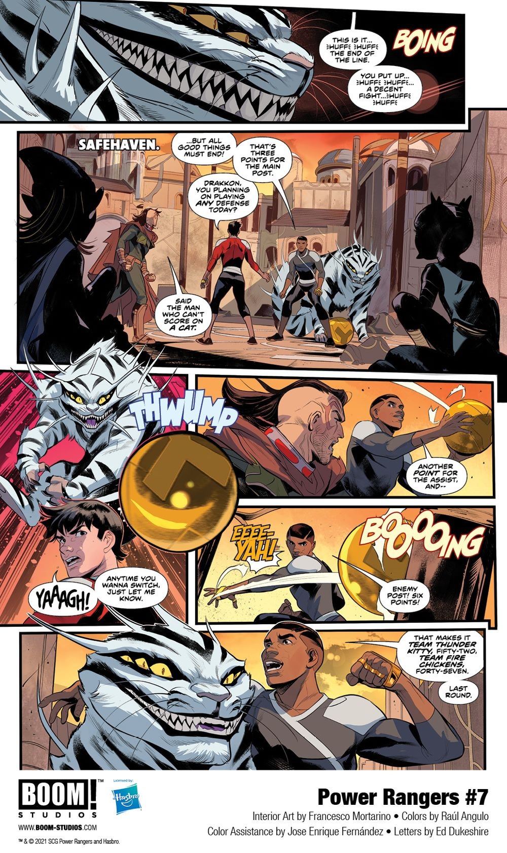 PowerRangers_007_Interiors_001_PROMO First Look at POWER RANGERS #7 by BOOM! Studios