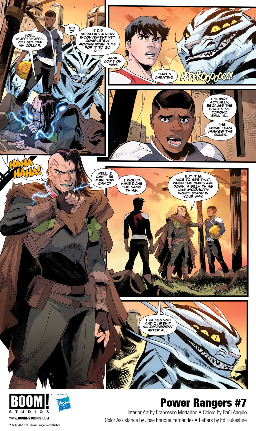PowerRangers_007_Interiors_004_PROMO First Look at POWER RANGERS #7 by BOOM! Studios