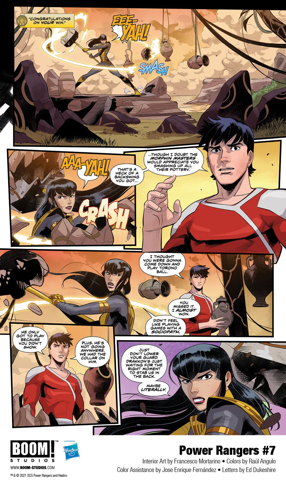 PowerRangers_007_Interiors_005_PROMO First Look at POWER RANGERS #7 by BOOM! Studios
