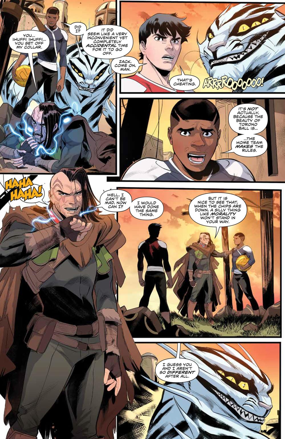 PowerRangers_007_PRESS_6 ComicList Previews: POWER RANGERS #7