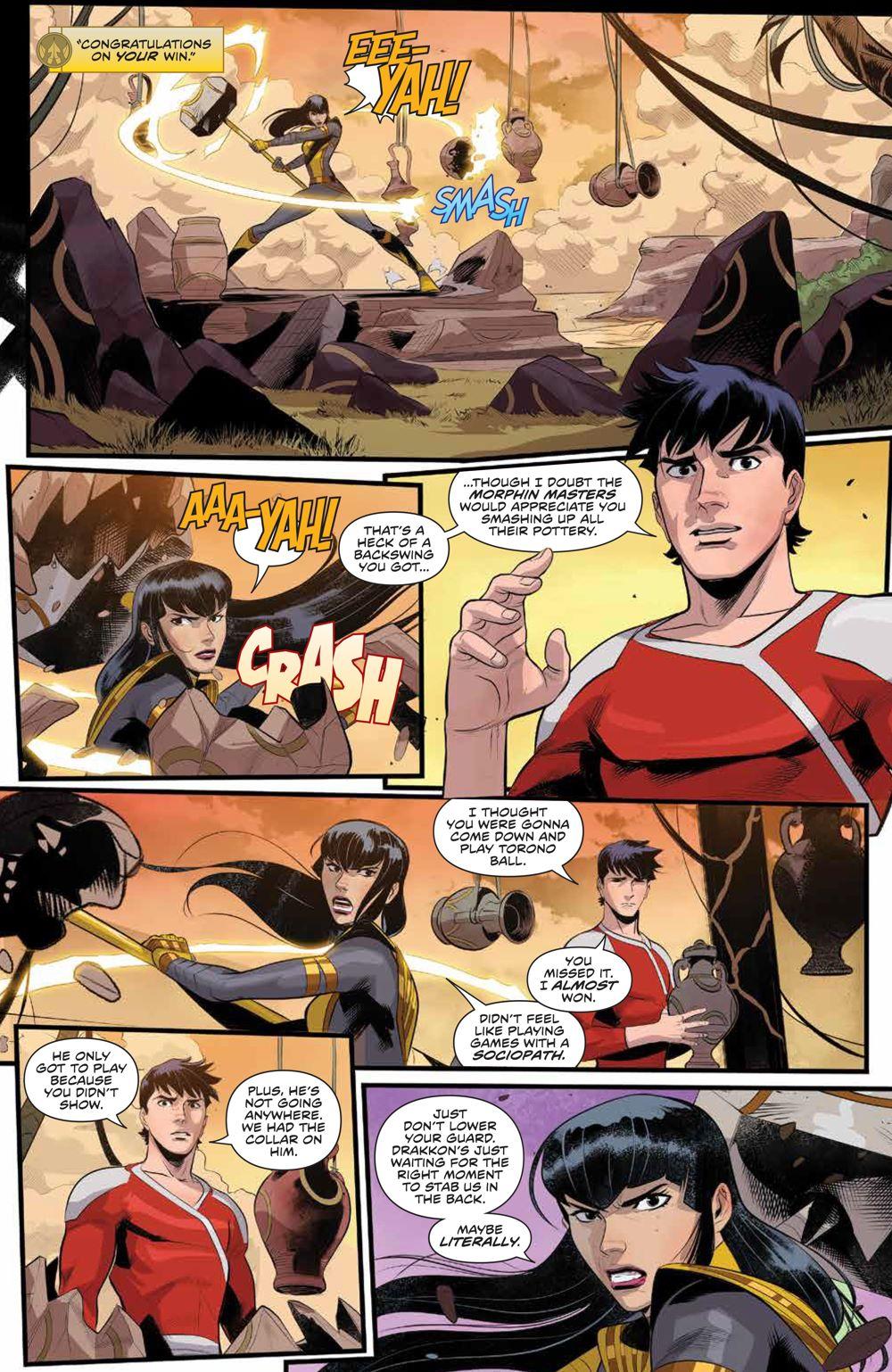 PowerRangers_007_PRESS_7 ComicList Previews: POWER RANGERS #7
