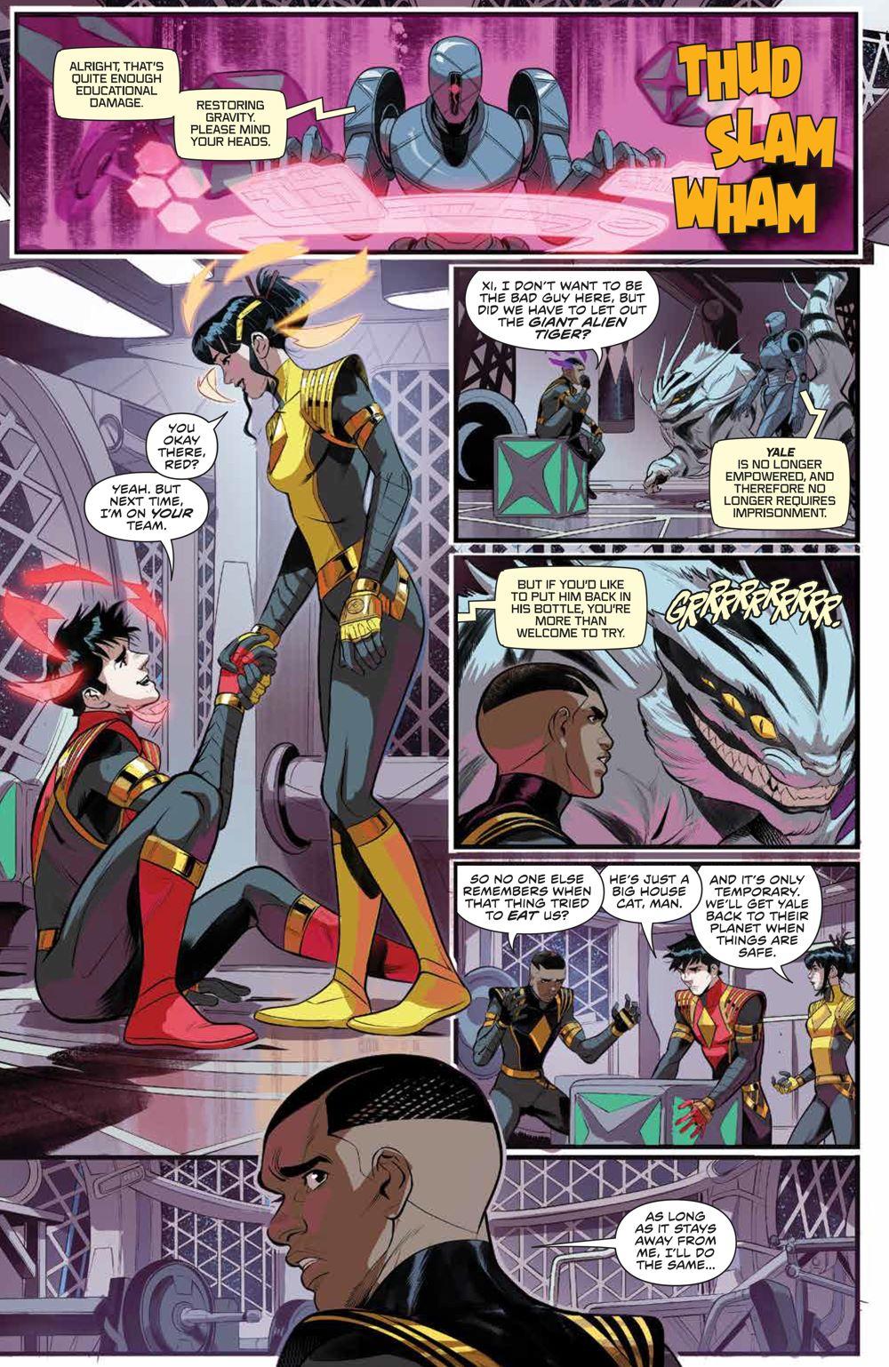 PowerRangers_v1_SC_PRESS_10 ComicList Previews: POWER RANGERS VOLUME 1 TP