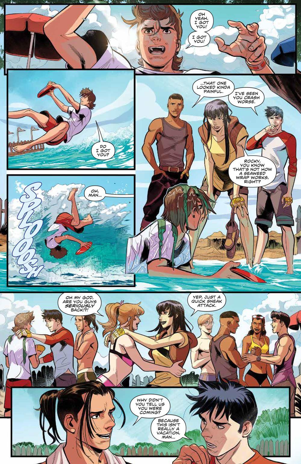 PowerRangers_v1_SC_PRESS_12 ComicList Previews: POWER RANGERS VOLUME 1 TP