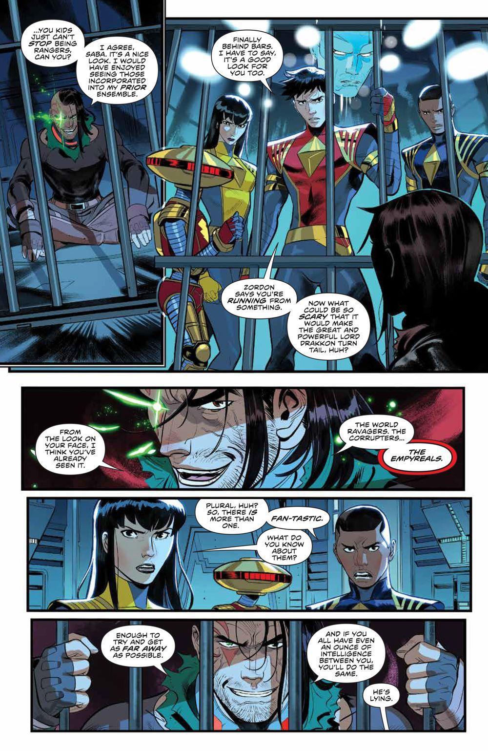 PowerRangers_v1_SC_PRESS_15 ComicList Previews: POWER RANGERS VOLUME 1 TP