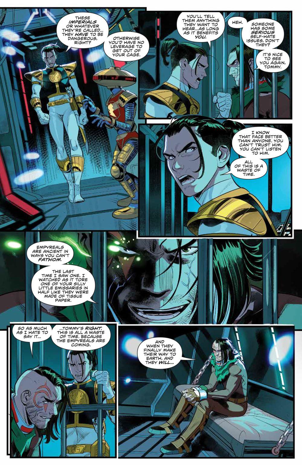 PowerRangers_v1_SC_PRESS_16 ComicList Previews: POWER RANGERS VOLUME 1 TP