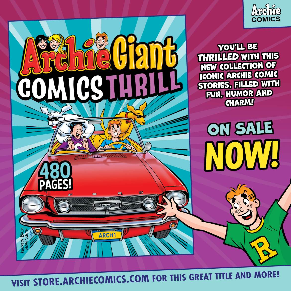 Preorder_Graphic_MAY_2021_06_OSN ComicList Previews: ARCHIE GIANT COMICS THRILL TP