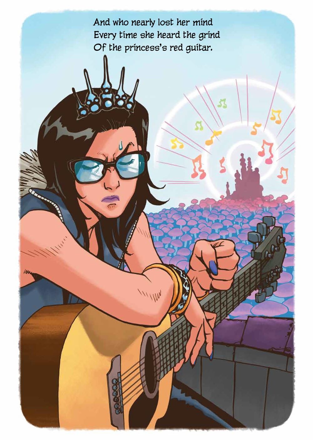 PrincessWhoSavedHerself_HC_PRESS_13 ComicList Previews: THE PRINCESS WHO SAVED HERSELF HC