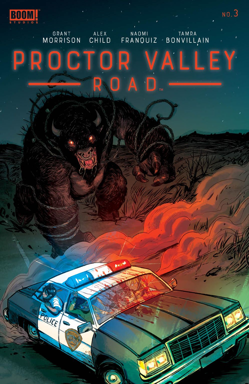 ProctorValleyRoad_003_Cover_A_Main ComicList: BOOM! Studios New Releases for 05/12/2021