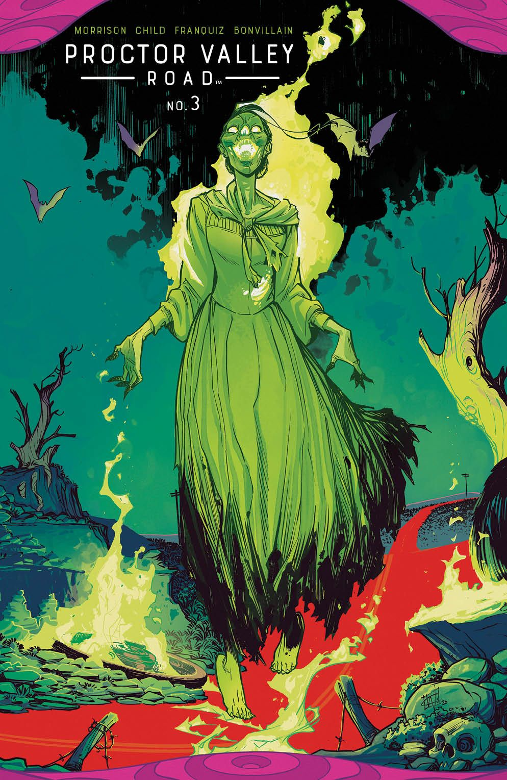ProctorValleyRoad_003_Cover_B_Variant ComicList Previews: PROCTOR VALLEY ROAD #3 (OF 5)