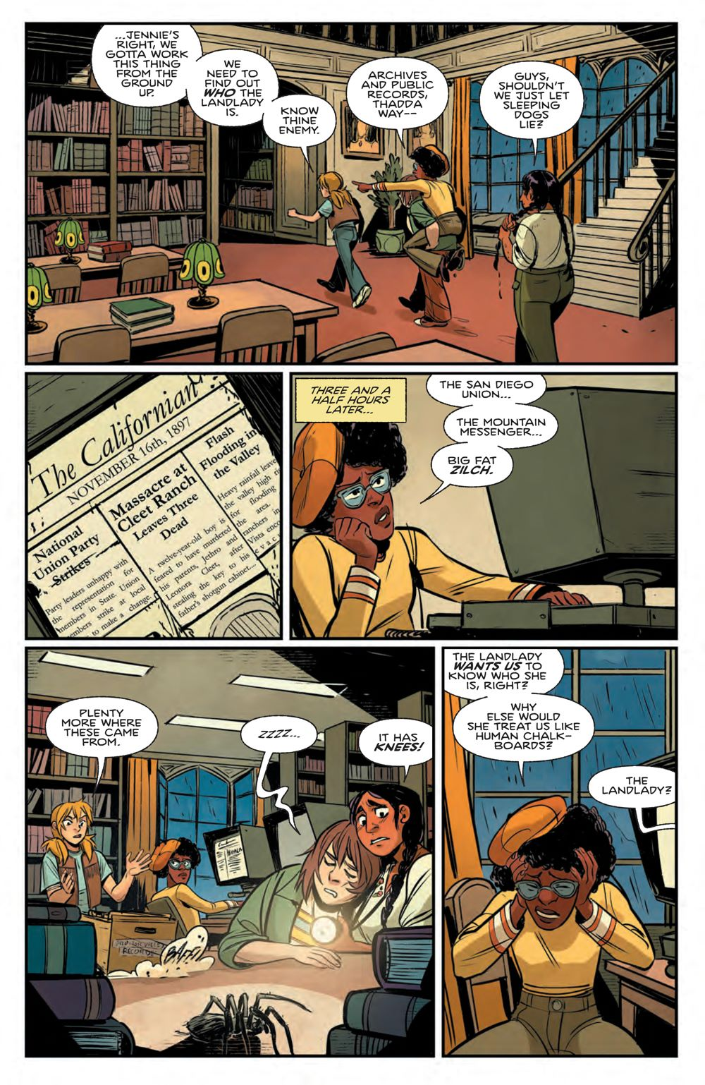 ProctorValleyRoad_003_PRESS_5 ComicList Previews: PROCTOR VALLEY ROAD #3 (OF 5)