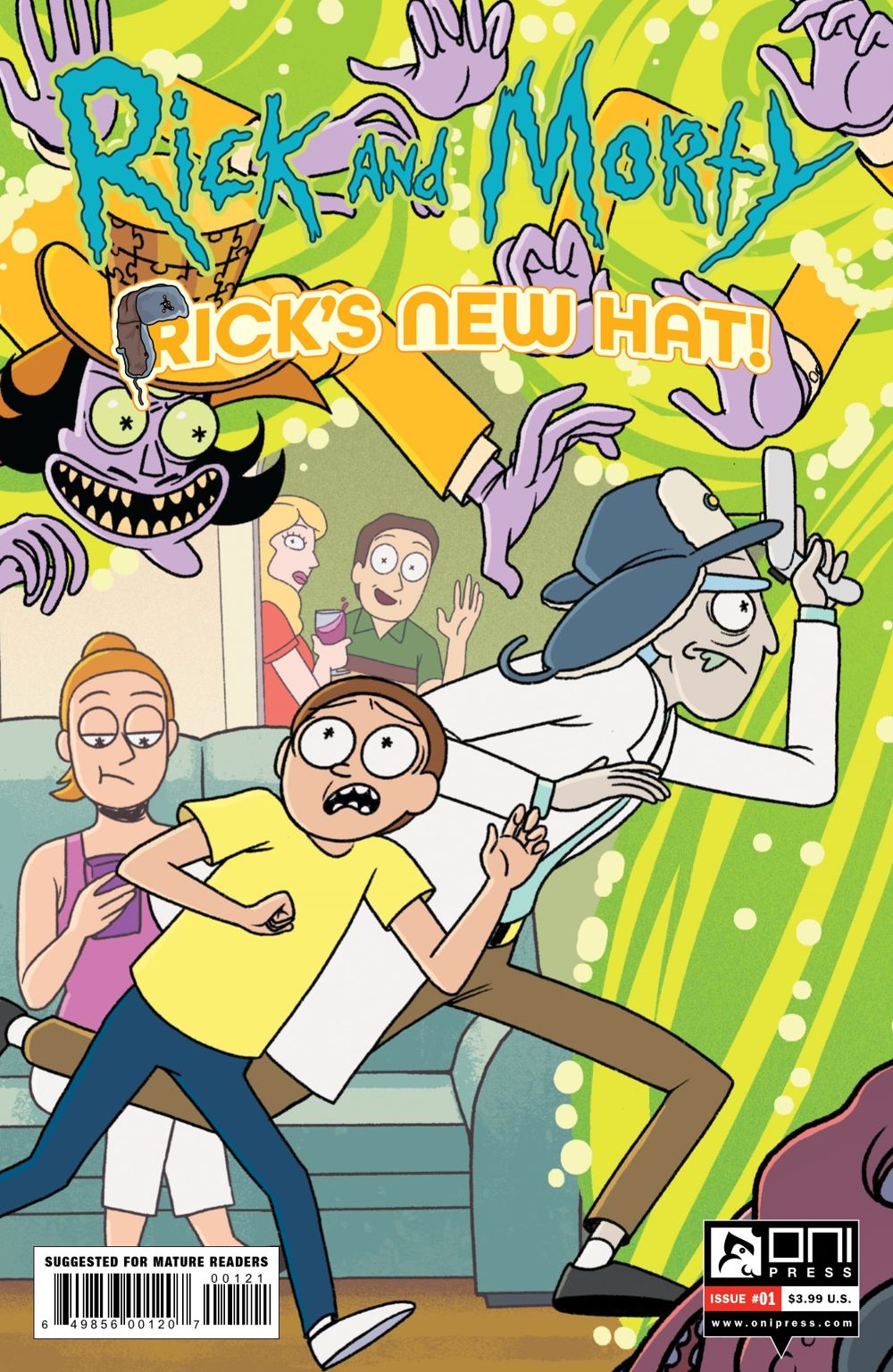 RM-RNH-1-MARKETING-02 ComicList Previews: RICK AND MORTY RICK'S NEW HAT #1