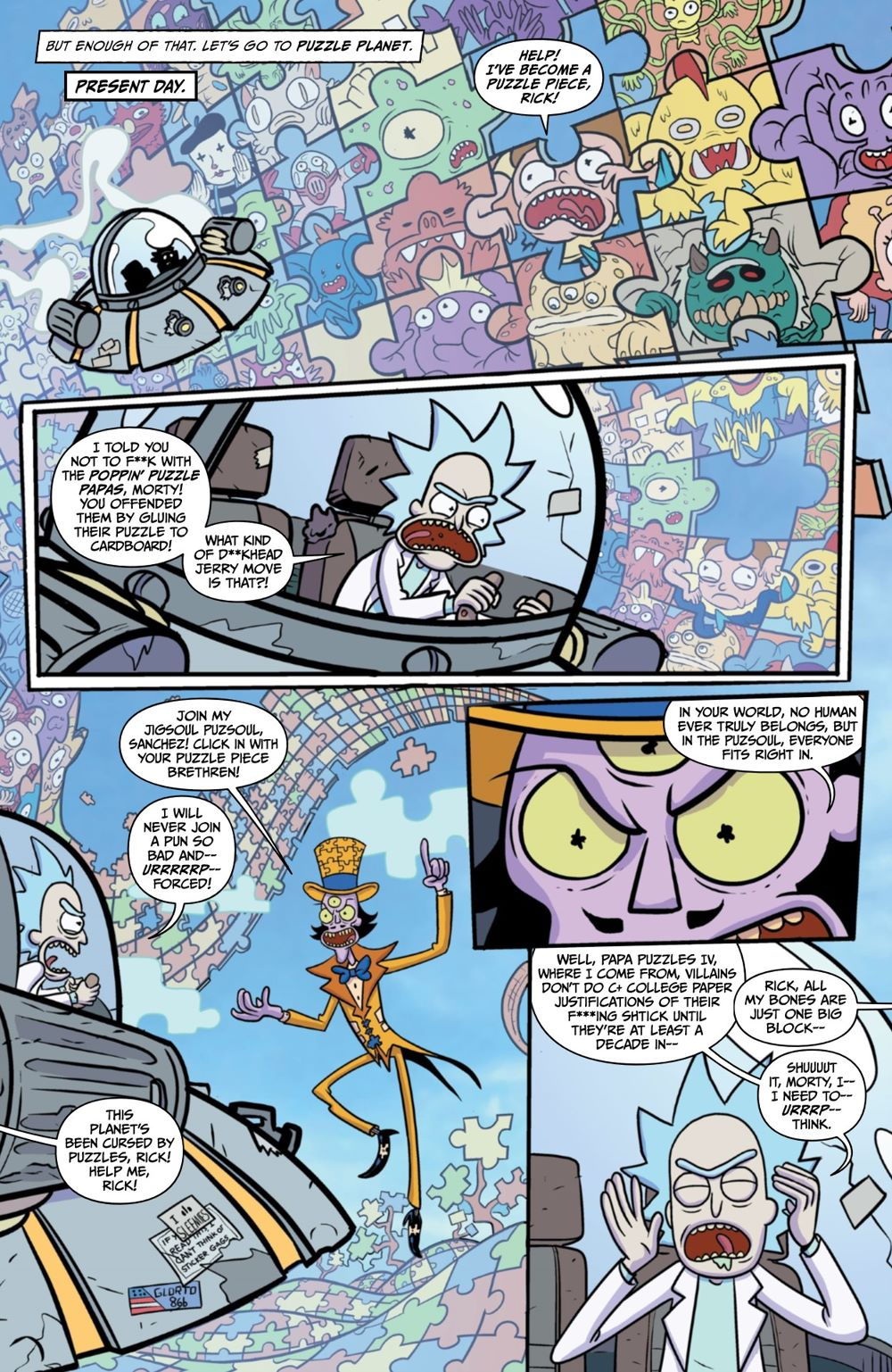 RM-RNH-1-MARKETING-11 ComicList Previews: RICK AND MORTY RICK'S NEW HAT #1