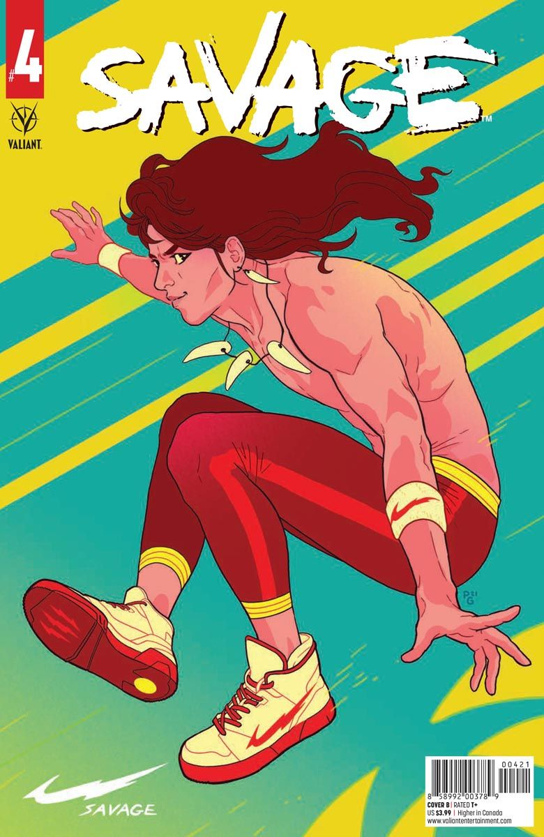 SAVAGE_4_COVER_B ComicList: Valiant Entertainment New Releases for 05/12/2021