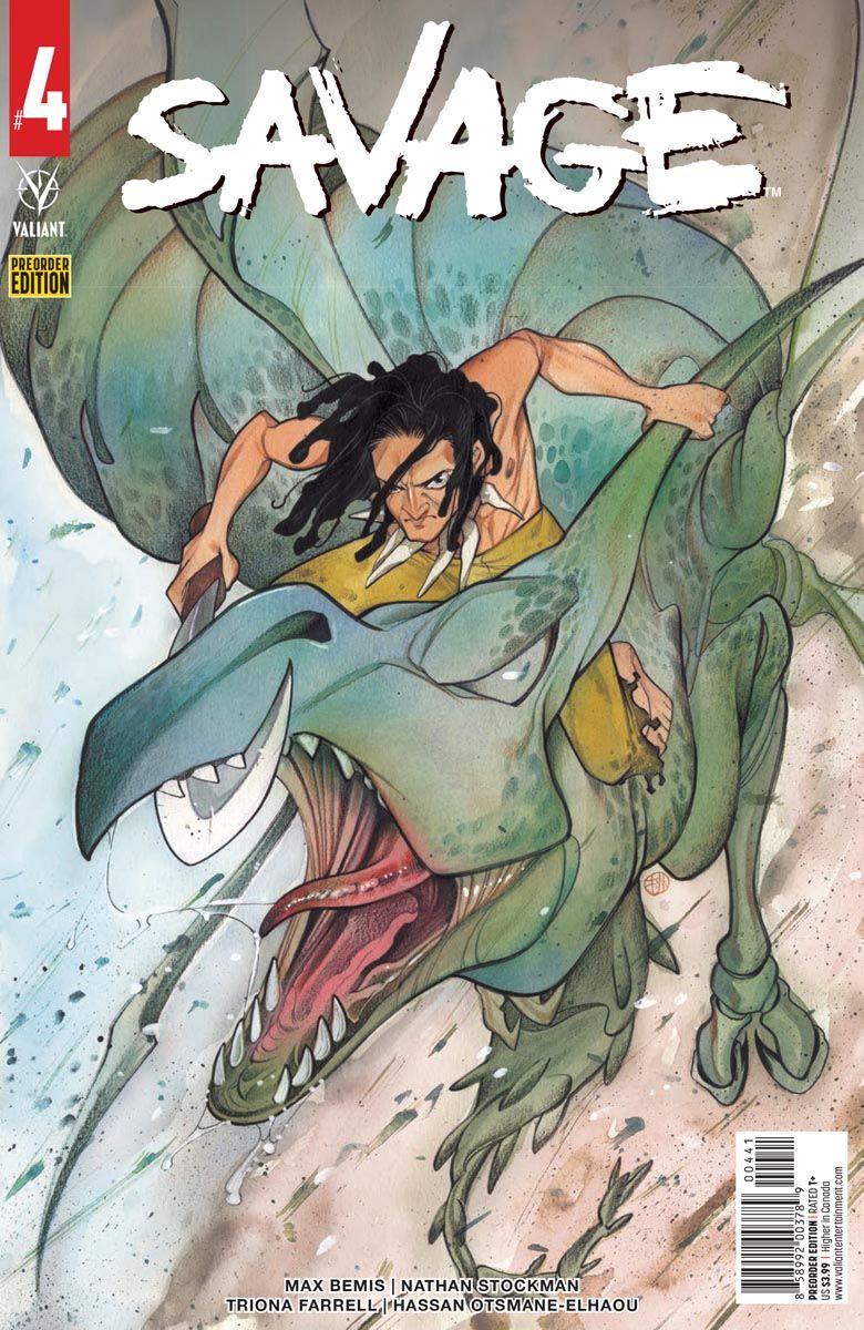 SAVAGE_4_PREORDER ComicList: Valiant Entertainment New Releases for 05/12/2021
