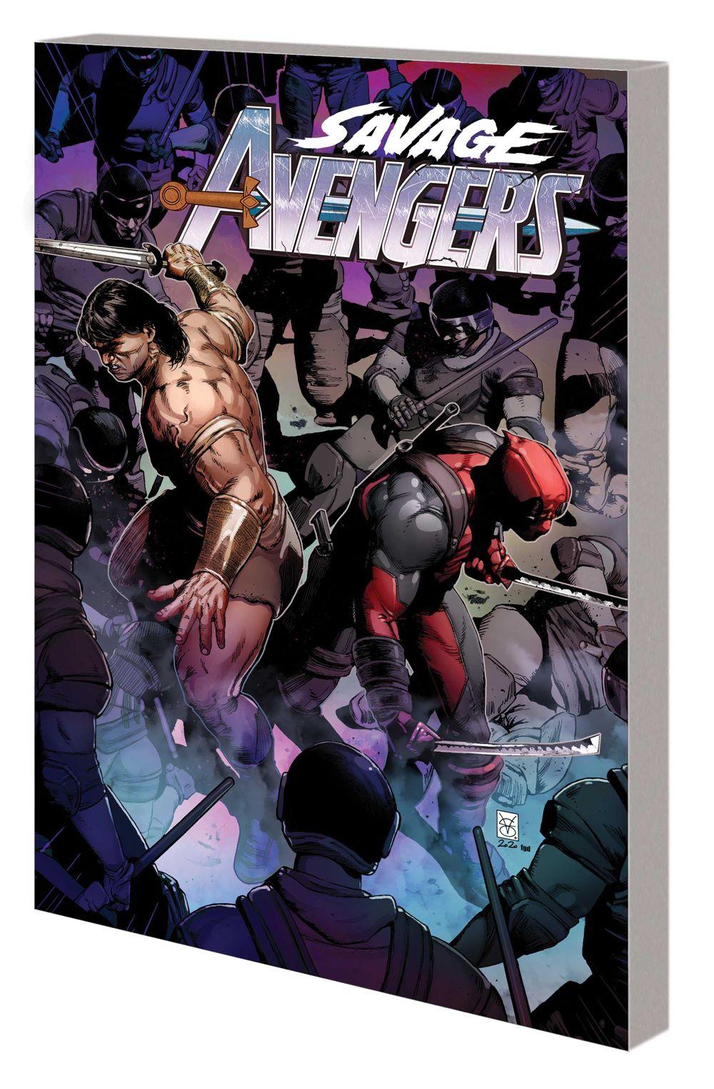 SAVAVENGERS_VOL_4_TPB Marvel Comics August 2021 Solicitations