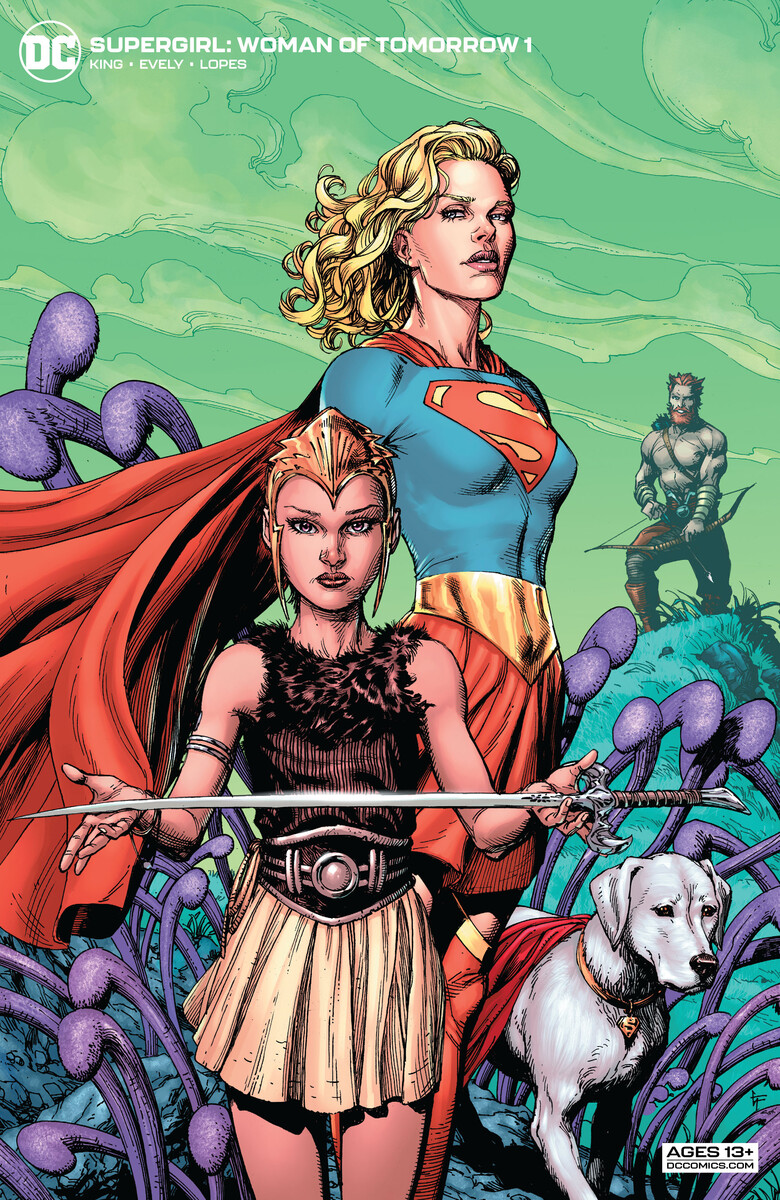 SG_WOT_Cv1_var_609d564dcce8a8.34583302 First Look at SUPERGIRL: WOMAN OF TOMORROW #1 from DC Comics