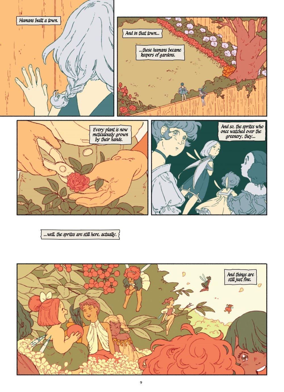 SPRITEG-MARKETING-10 ComicList Previews: THE SPRITE AND THE GARDENER HC