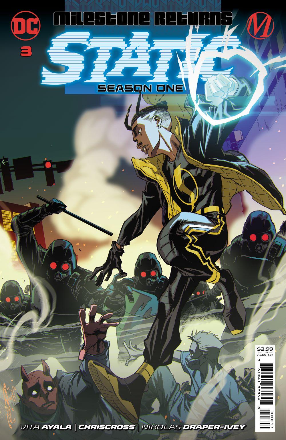 STATIC_S1_Cv3 DC Comics August 2021 Solicitations
