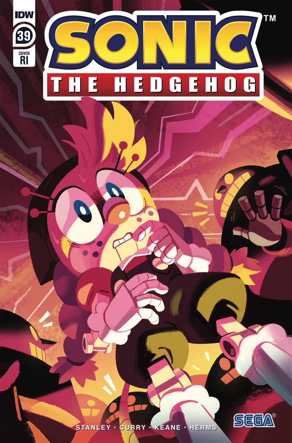 STH39_cvrRI ComicList Previews: SONIC THE HEDGEHOG #39