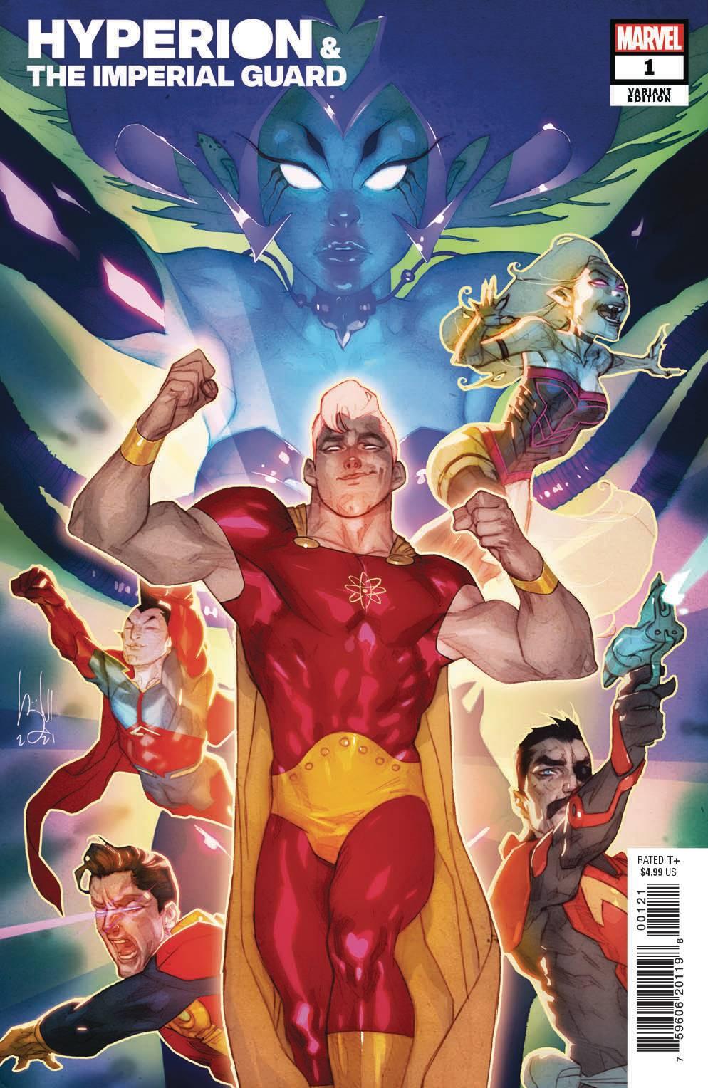STL185537 ComicList: Marvel Comics New Releases for 05/12/2021