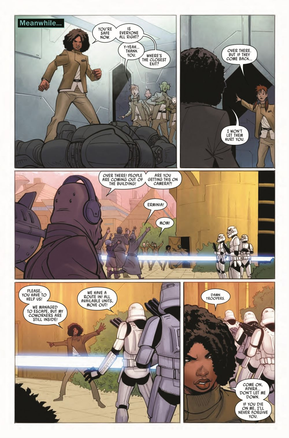 STWAPHRA2020010_Preview-3 ComicList Previews: STAR WARS DOCTOR APHRA #10