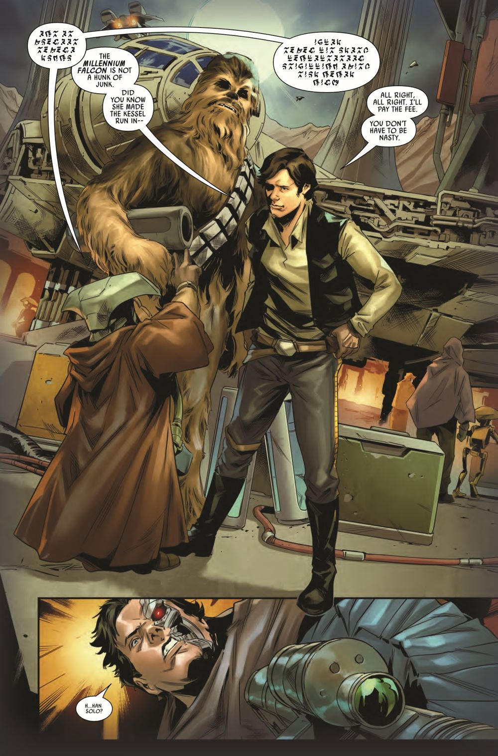 STWBOUNTYHUNT2020012_Preview-6 ComicList Previews: STAR WARS BOUNTY HUNTERS #12
