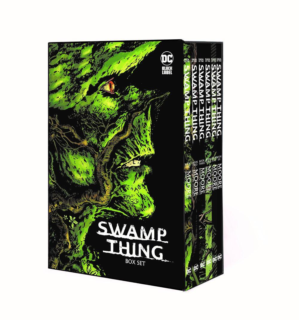 SWAMPTHINGSLIPCASE_MOCKUP DC Comics August 2021 Solicitations