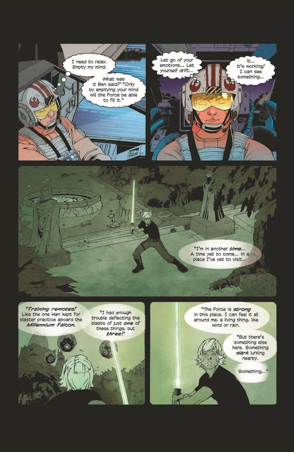 SWA_Weapons01_pr-6 ComicList Previews: STAR WARS ADVENTURES THE WEAPON OF A JEDI #1 (OF 2)
